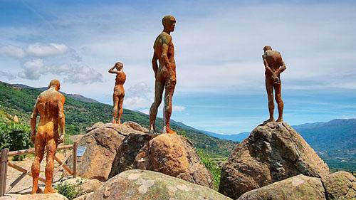 Mirador de la memoria en el Valle del Jerte