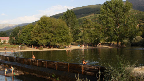 Piscina natural La Pesquerona - Valle del Jerte
