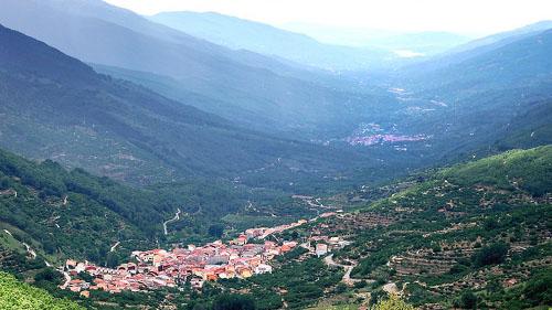 Turismo Valle del Jerte - Panorámica del valle del jerte